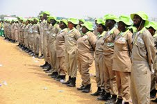 A Cross Section of Osun Youth Empowerment Scheme (O-YES) Cadets, during their passing out parade, held at the Orientation Camp of the NYsC, Ede, State of Osun on Tuesday 29-01-2013