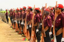 Another Cross Section of Osun Youth Empowerment Scheme (O-YES) Cadets, during their passing out parade, held at the Orientation Camp of the NYsC, Ede, State of Osun on Tuesday 29-01-2013