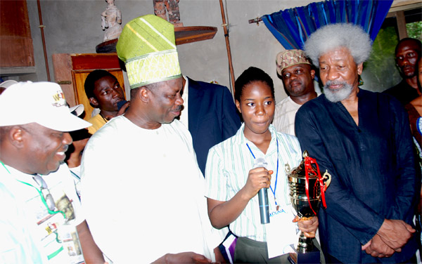 Wole soyinka at 79 essay competition