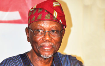 National Chairman, All Progressives Congress, John Odigie Oyegun