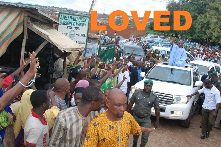 Aregbesola LOVED and Beloved by the Masses