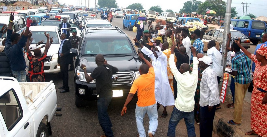 Group Stages Peaceful March In Abuja In Support Of Aregbesola