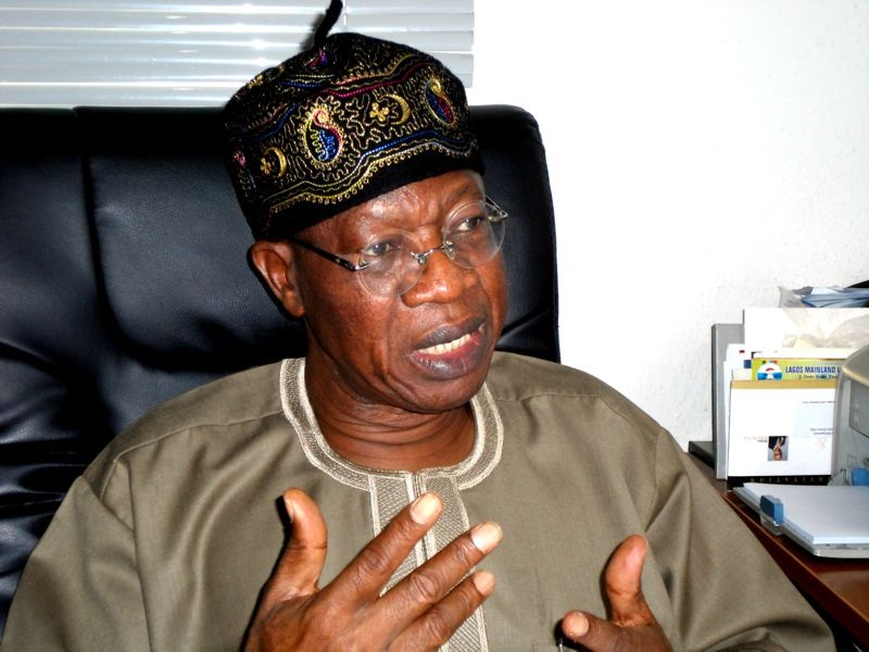 Treasury Looters, Political Disgruntled Behind IPOB – Lai Mohammed