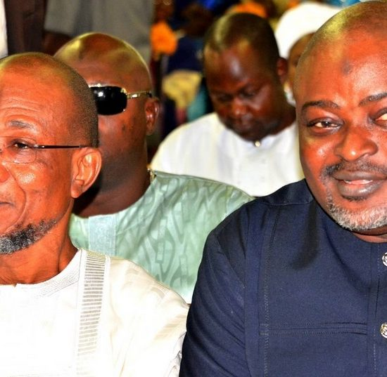 Funeral Service for Chief Albert Olokunle Apara - Governor State of Osun, Ogbeni Rauf Aregbesola and Speaker Lagos State House of Assembly Rt. Hon. Mudashir Obasa,