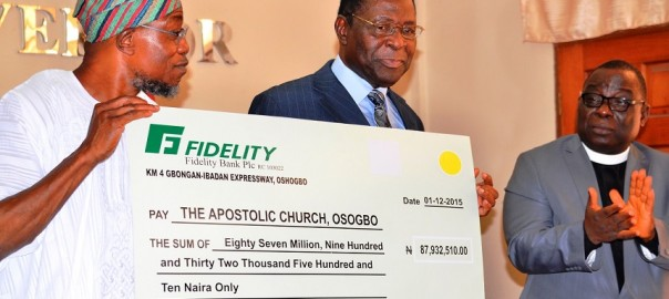 Apostolic church embraces Osun's road expansion project   …Collects N87.9 million compensation for church's removal