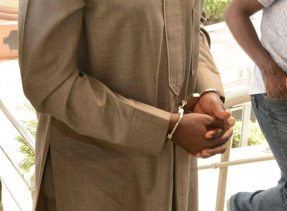 For The Records: Olisa Metuh In Handcuffs
