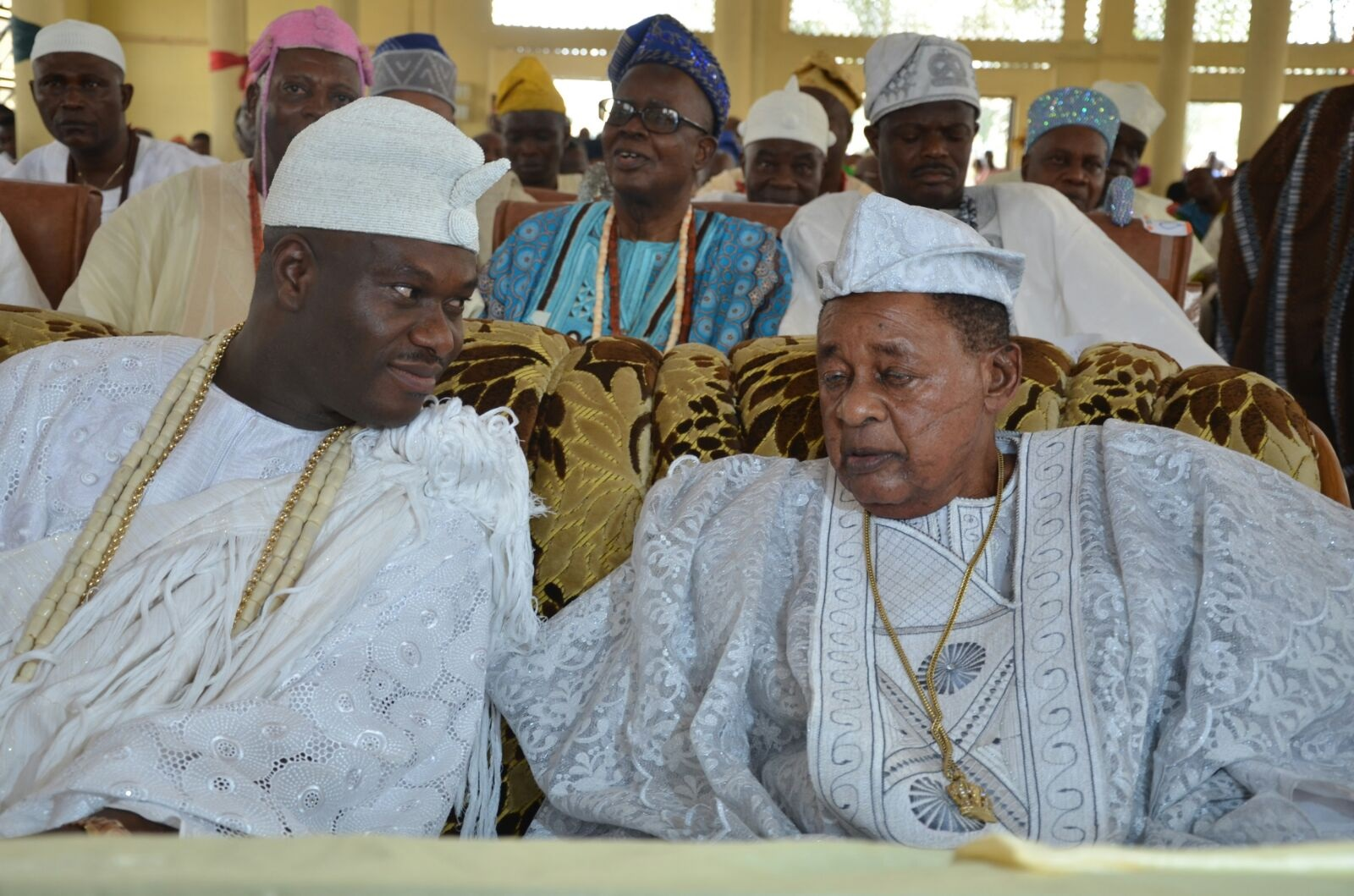 Charismatic Bridge Builder: Ooni Celebrates With Alaafin Oyo, as monarchs end 79-yr-old supremacy battle