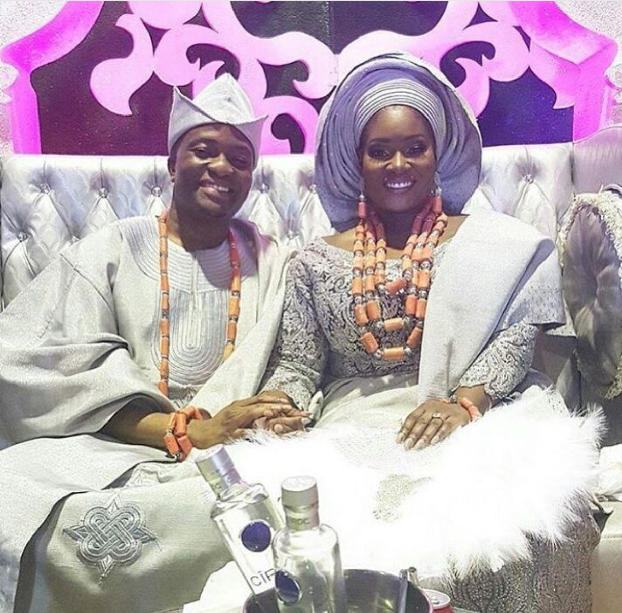 Ooni, Alaafin, Others, Storms Toolz & Tunde Demuren's Wedding (Photos)