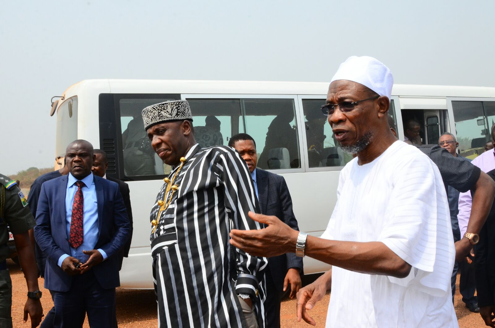 Amaechi Inspects Airport Project In Ido Osun (Photos)