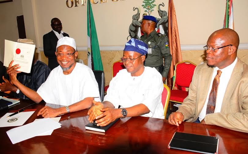 Aregbesola Signs Public Procurement Bill Into Law