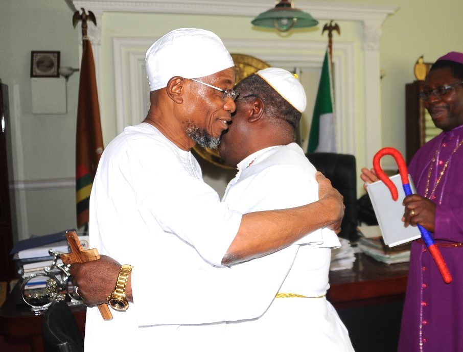 CAN Commends Aregbesola For Development, Sustaining Religious Harmony, Vows To Promote Peaceful Coexistence