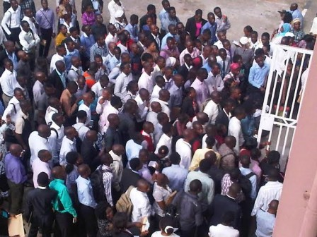 60,000 Jobless Youths In Lagos Jostle For 1,200 LASTMA Jobs