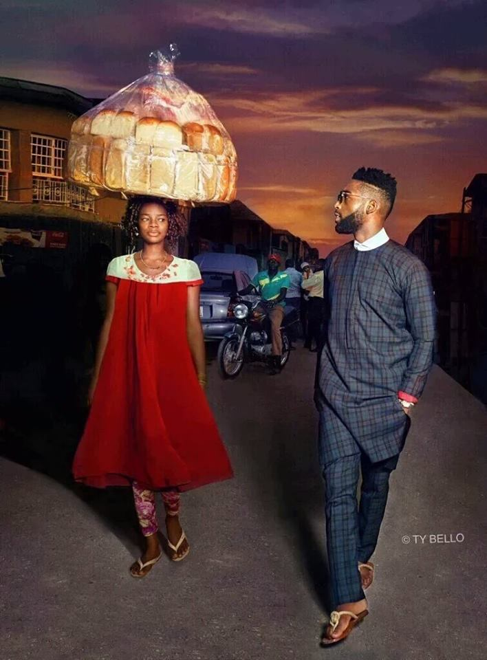 Bread Seller From Osun Turns Big Model In Lagos