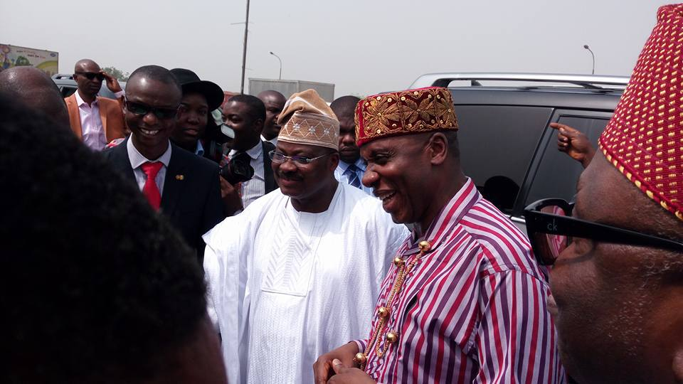 Photonews: Rotimi Amaechi Continues South West Visit, Inspect Roads In Oyo