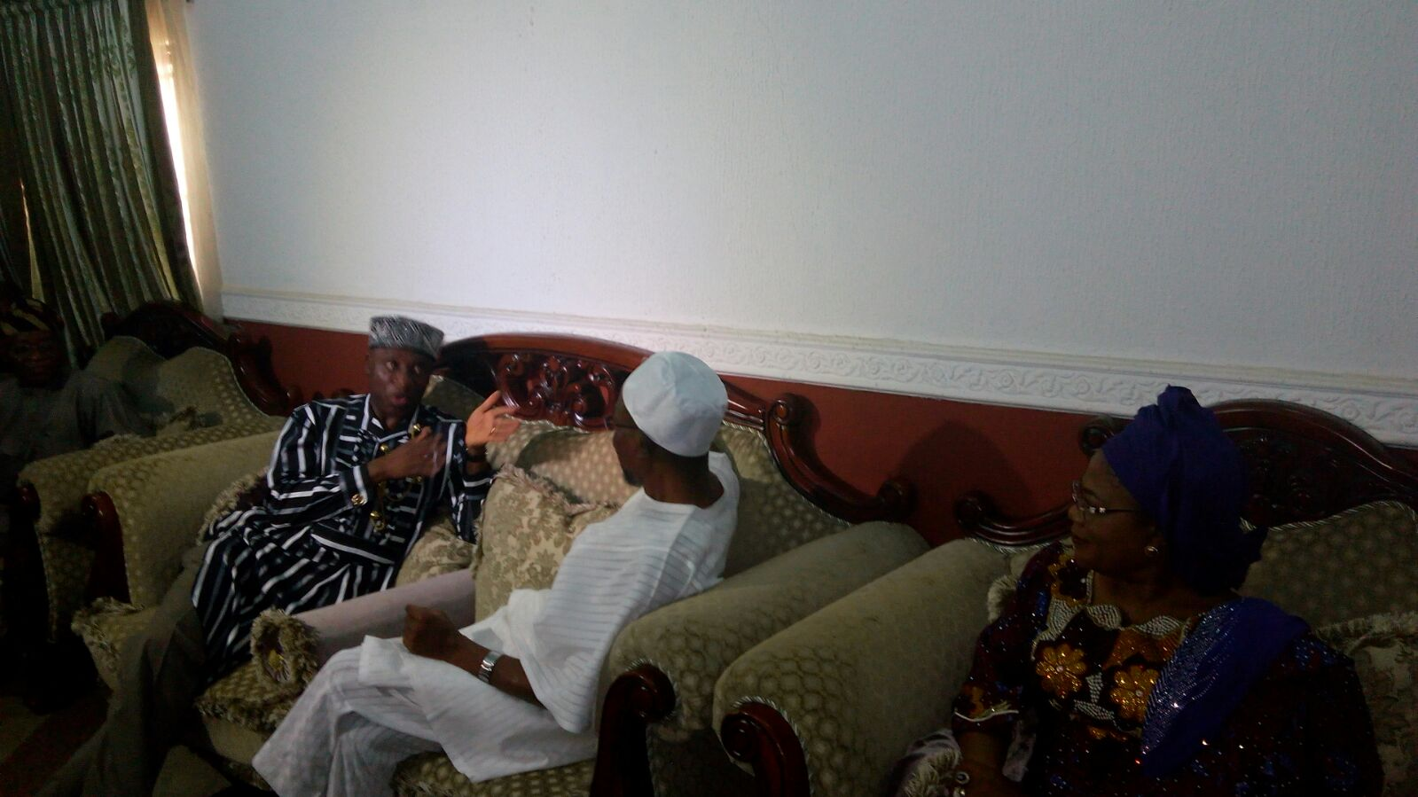 What Is Rotimi Amaechi Doing In The State Of Osun (Photos)
