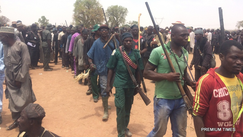 10,000 Local Hunters Gather In North East, Seek Clearance To Hunt Down Boko Haram Remnants In Sambisa