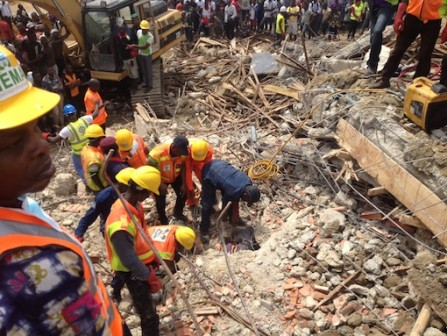 Lagos Govt Only Approved 4 Floors At The Lekki Collapsed Building
