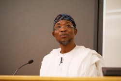Ogbeni Rauf Aregbesola of the state of Osun