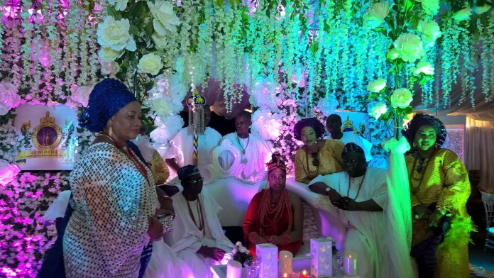 Ooni Marries Olori Wuraola In Benin