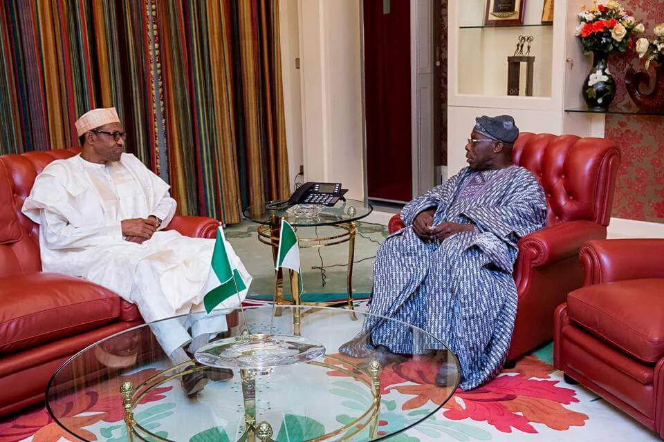 Obasanjo, NANS Call On Buhari To Punish Officials Involved In Maina's Recall