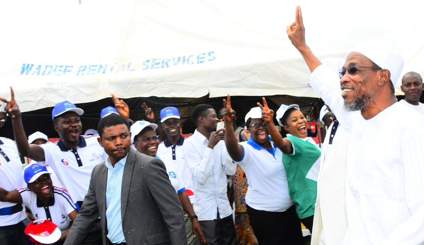 Photonews: Aregbesola Hosts Labour To Memorable May Day Commemoration