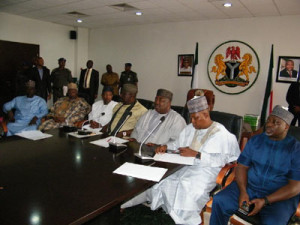 Aregbesola, Other APC Governors Pay Enugu Solidarity Visit Over Herdsmen Killings