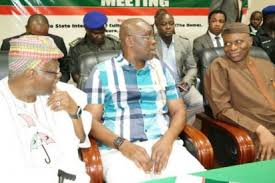 Bode George, Okupe, Babatope, And Other PDP Southwest Leaders Shun Fayose/Mimiko Congress