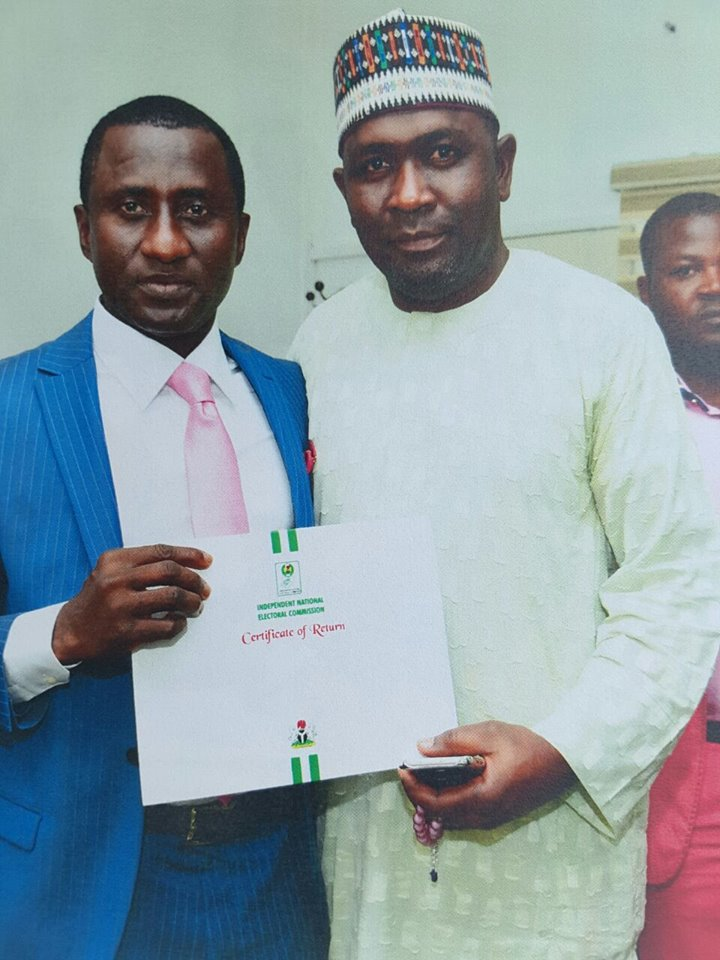 INEC Issues Certificate Of Return To Uche Ogar As Abia Governor
