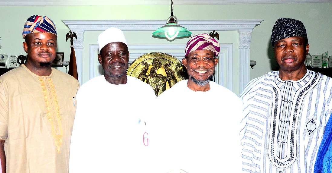 Aregbesola Receives Kebbi State's Agricultural Experts In Osun (Photos)