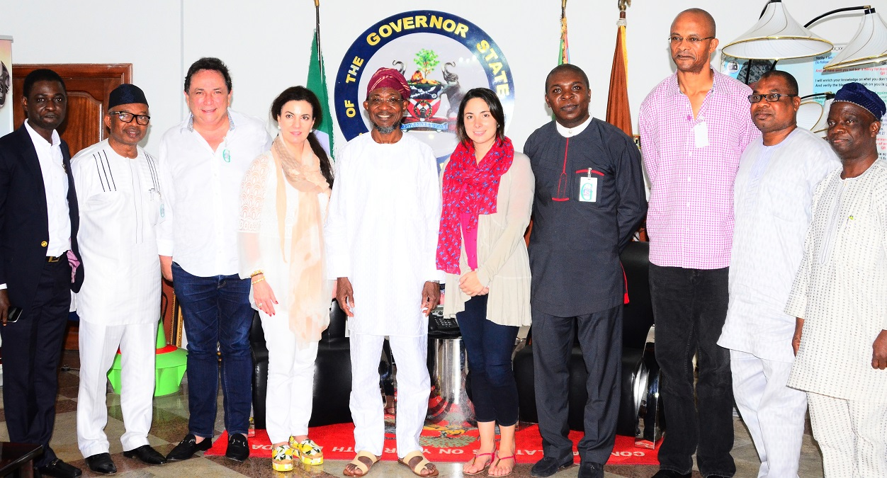 PHOTONEWS: San Carlos Group Mexico Visit Aregbesola To Discuss Investment Plans