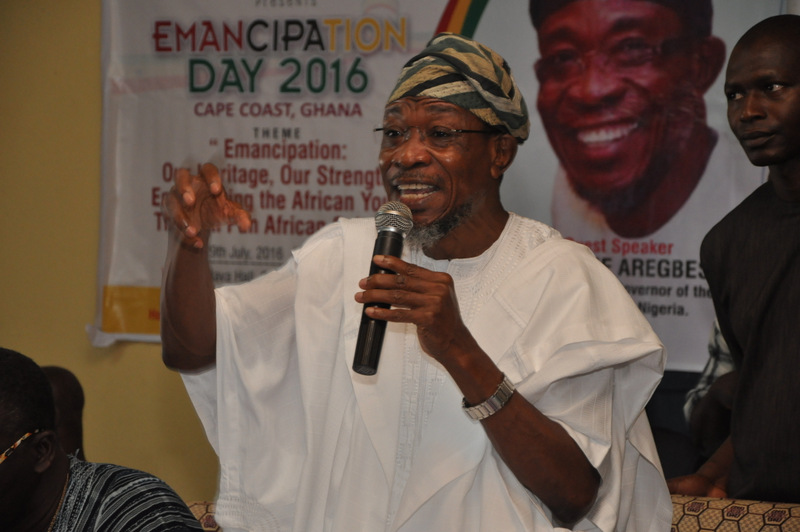Aregbesola Delivers Address In Ghana At PANAFEST Celebration (Photonews)