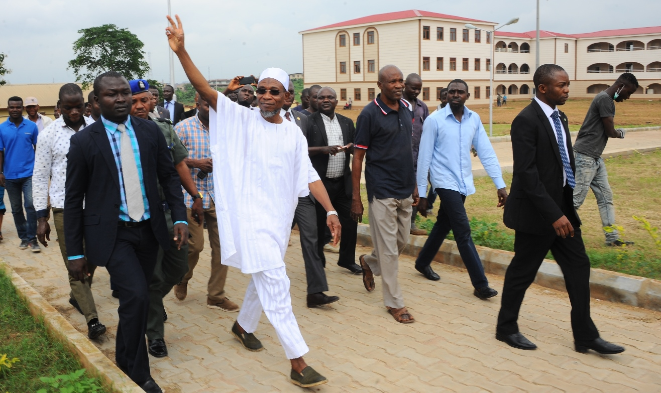 Bishop Commends Aregbesola Over Infrastructure Development