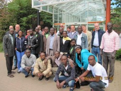 Photos of Osun Agric trainee in Germany