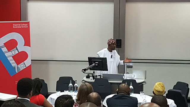 Aregbesola Delivers Keynote Speech At Imperial College In London (Photos)