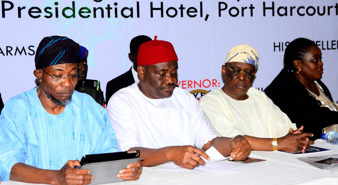 Aregbesola Delivers Lecture At 12th Of The All Nigeria Editors Conference (Photonews)
