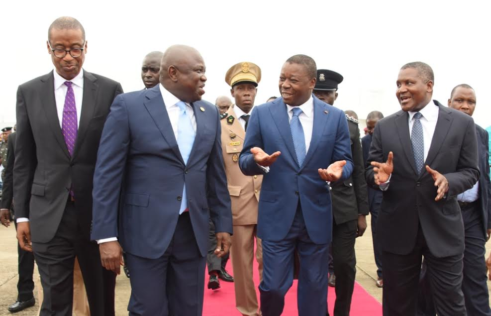 Togolese President, Ambode Commend Dangote Over Economic Investments