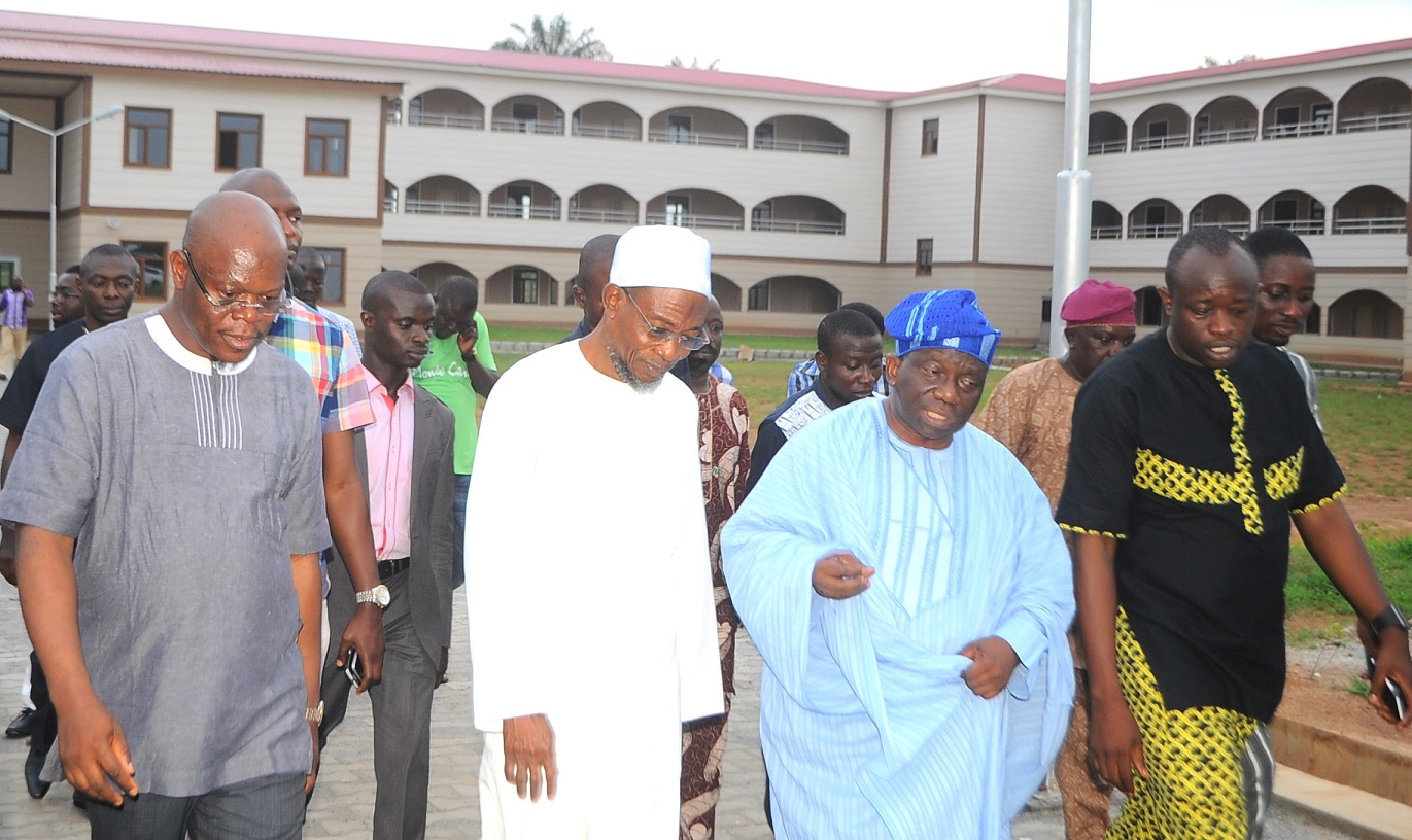 Minister Of Health Joins Aregbesola On Inspection Of School Projects (Photos)