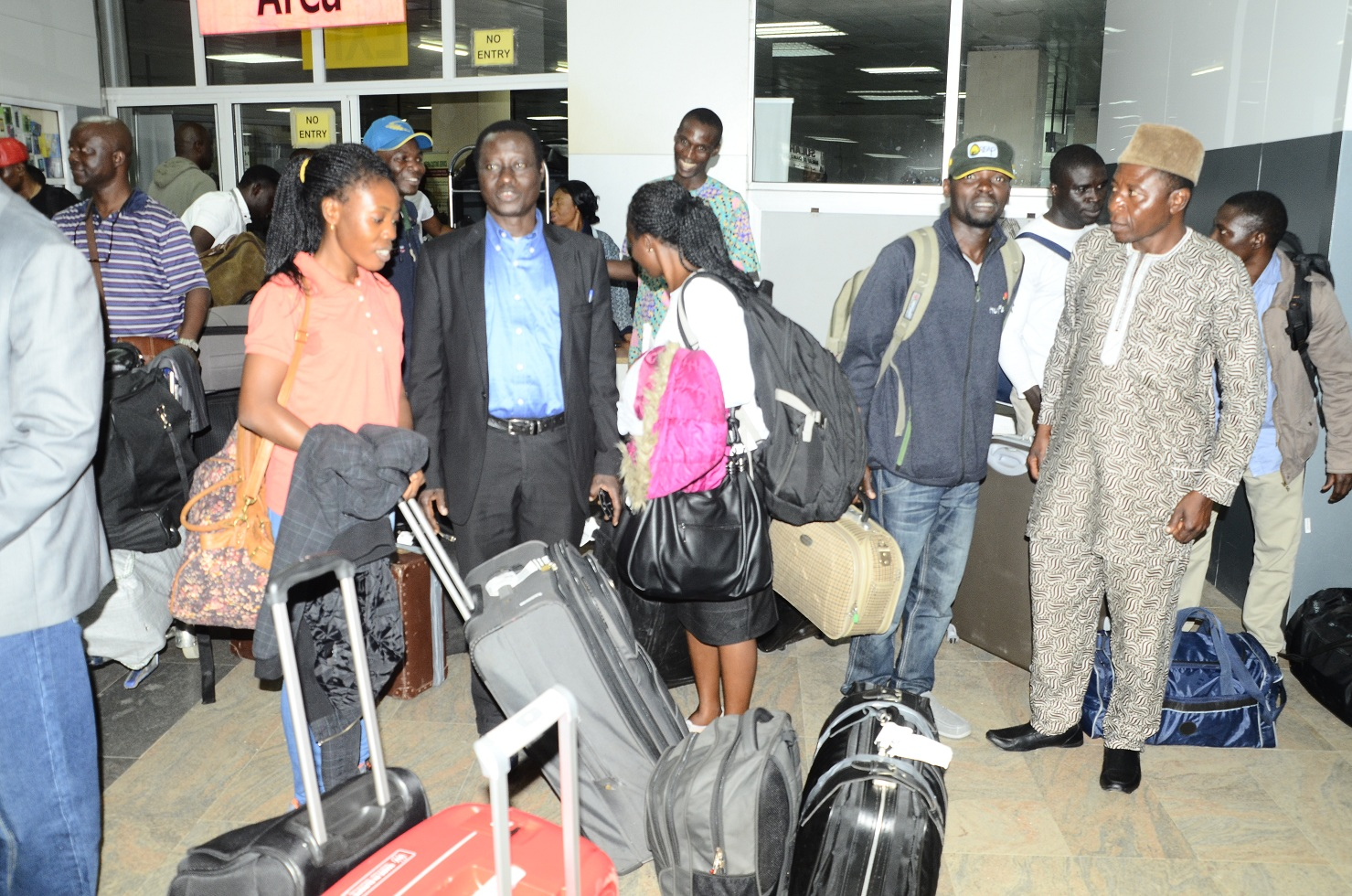 Osun Sponsored Agric Trainees In Germany Return Home (Photos)