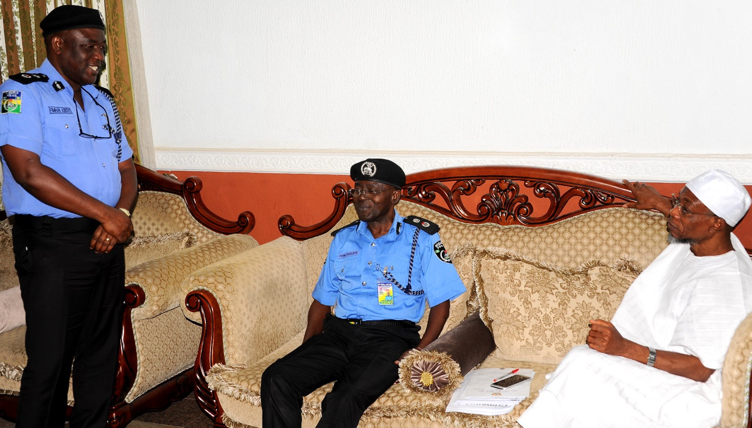 Photonews: New Osun Commissioner Of Police Visits Osun