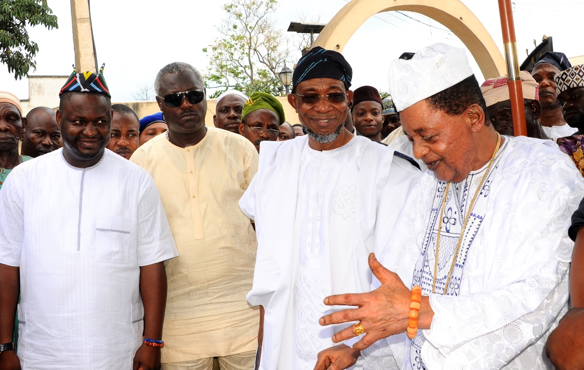 Photonews: Aregbesola Attends Thanksgiving Ceremony As Alaafin Clocks 78