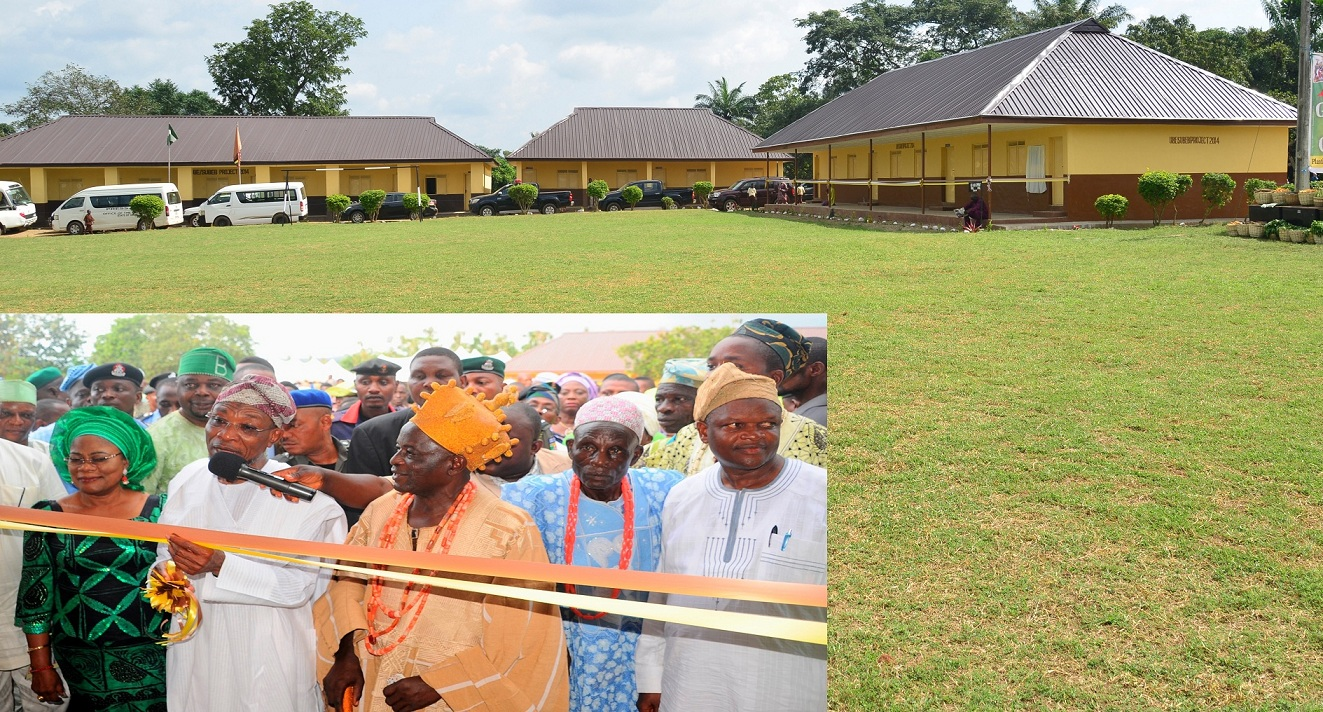 Photonews: Aregbesola Commissions Community Government High School