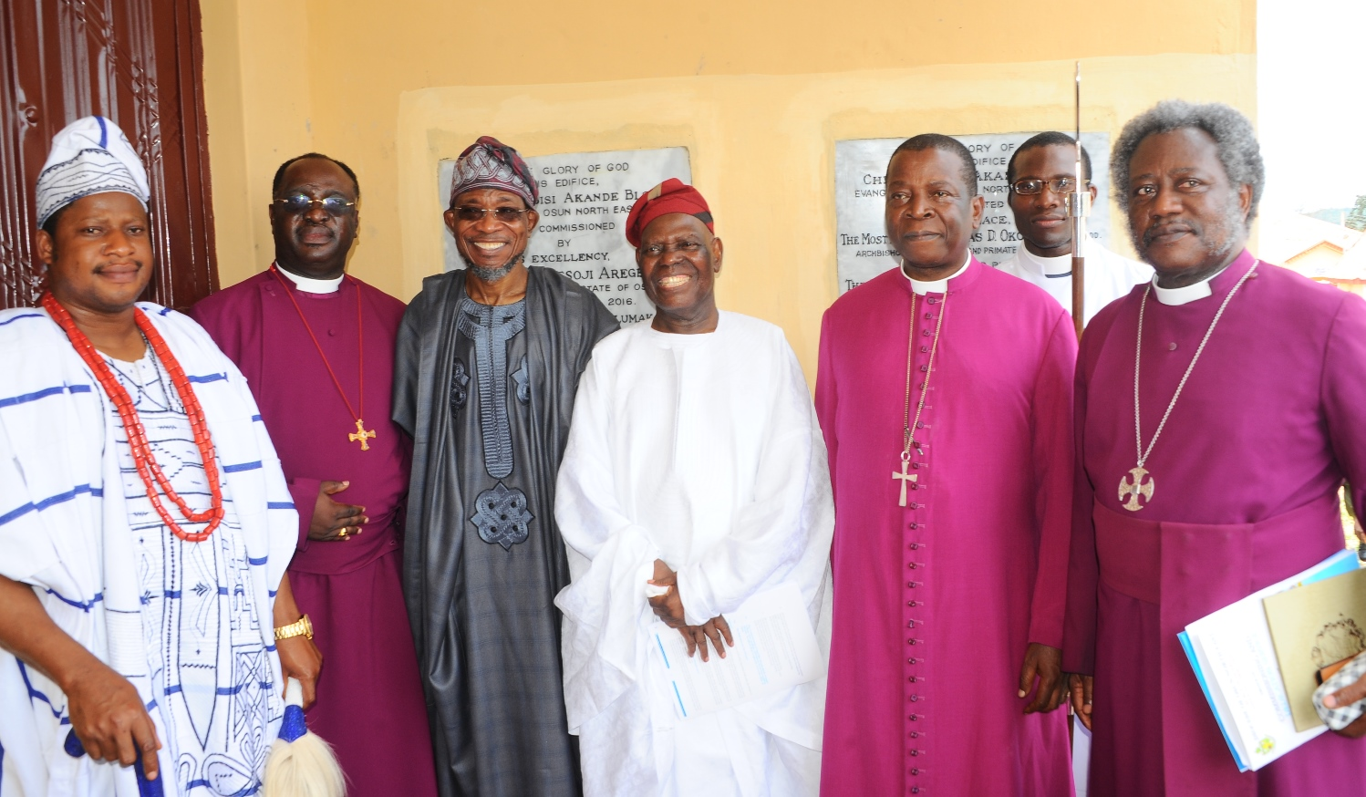 Photonews: Diocese Of Osun Anglican Communion Built Classrooms In Honour Of Chief Bisi Akande