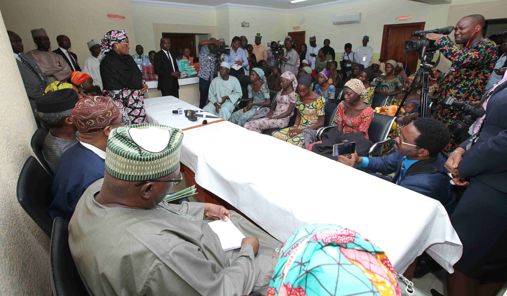 Nigerian Government Releases 82 Names Of Chibok Girls Freed