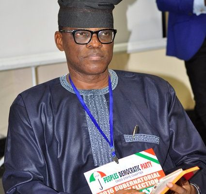 Ondo Polls: PDP Candidate, Jegede Submits Protest Letter To INEC, Requests Postponement