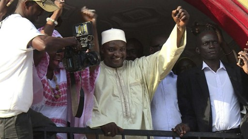 Jammeh Leaves Banjul Today into Exile