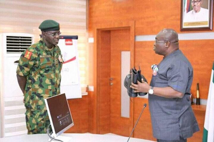 We'll Continue To Patronize Made-in-Aba Materials, Buratai Assures Ikpeazu