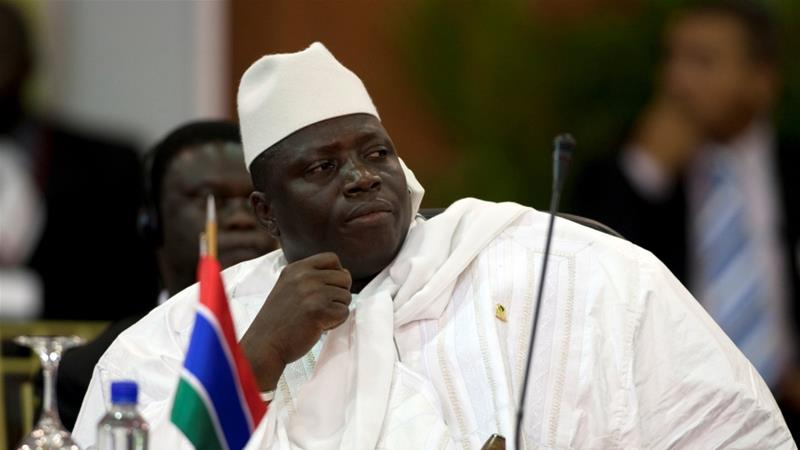 Gambia's Jammeh Insists He Won't Hand Over Power