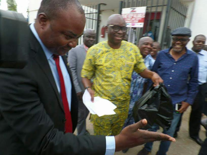 Fayose Storms Zenith Bank, Withdraws N5m Cash