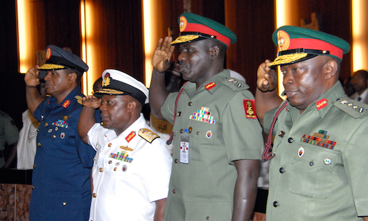 No Plans To Replace Service Chiefs – Presidency