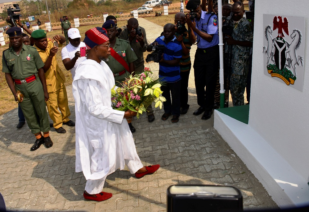 (FULL SPEECH) Aregbesola Launches 2018 Armed Forces Remembrance Day Emblem